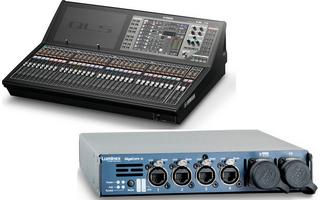 Yamaha QL5 et Gigacore 10